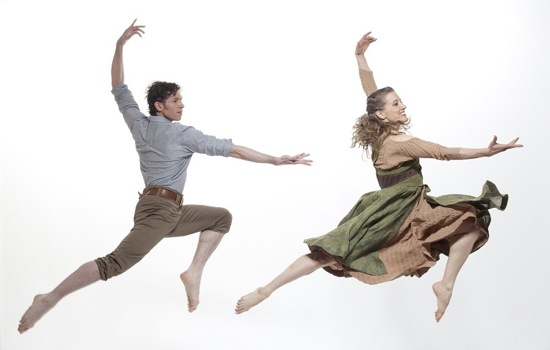 Sean Mahoney and Amy Young in Paul Taylor's Perpetual Dawn. Photo: Paul B. Goode