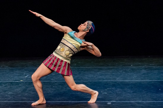 Steven Melendez in James Waring's Feathers. Photo: Darial Sneed