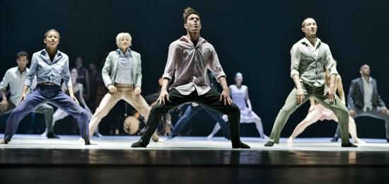 Danish Dance Theatre in Tim Rushton's Love Songs. Photo: Björn Ørsted