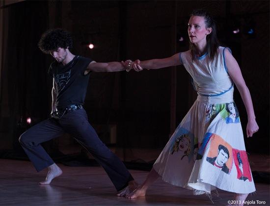 Olsi Gjeci and Laurel Tentindo. Photo:Anjola Toro