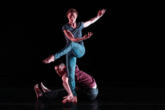 Emily Pope-Blackman and Kevin Ho in Berries and Bulls. Photo: Julie Lemberger