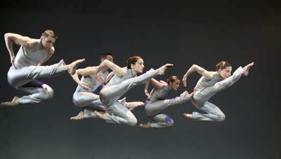 Members of RIOULT Dance New York in Pascal Rioult's Bolero. Photo: Basil Childers
