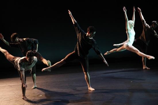 Members of Dusan Tynek Dance Theatre in Widow's Walk. Photo: Julieta Cervantes