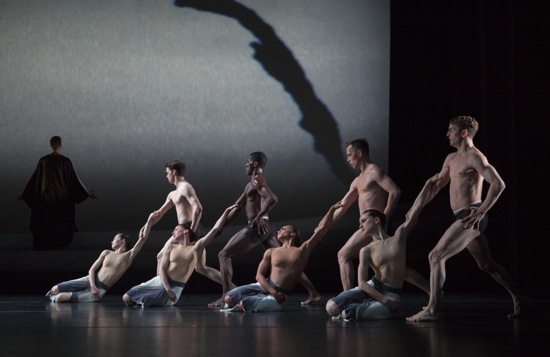 Men and women of the Martha Graham Dance Company in her Rite of Spring. Photo: Sinru Ku, courtesy of Jacob's Pillow