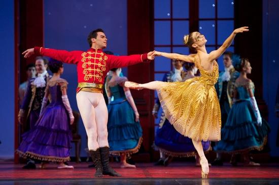 Joan Boada and Maria Kochetkova of the San Francisco Ballet in Christopher Wheeldon's Cinderalla. Photo: Erik Tomasson