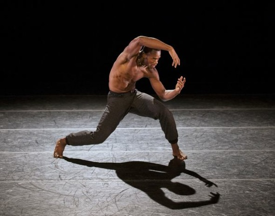 Jamar Roberts in Aszure Barton's Lift. Photo:  Paul Kolnik