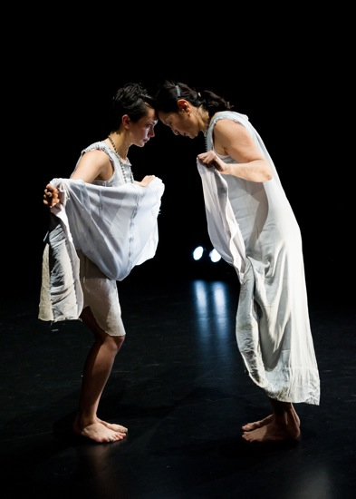 Rebecca Serrell Smith (L) and Donna Uchizono in Uchizono's Fire Underground. Photo: Ian Douglas