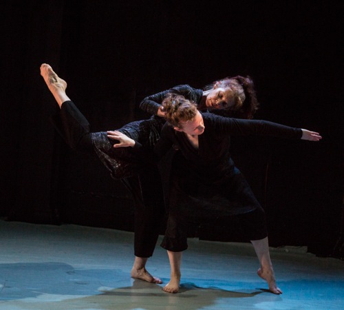Vicky Shick (rear) and Marilyn Maywald in Shick's Pathétiquw/Miniatures in Detail. Photo: Yi-Chun Wu