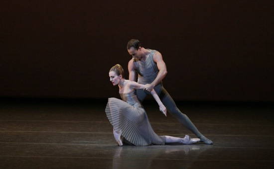 Wendy Whelan and Tyler Angle in Christopher Wheeldon's This Bitter Earth. Photo: Paul Kolnik