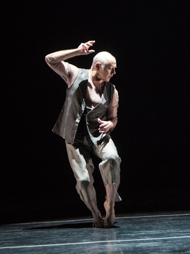 Doug Varone in his solo, The Fabulist. Photo: Yi-Chun Wu