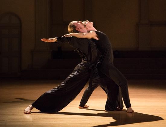 Jordan Morley and Leslie Kraus in Keely Garfield's Wow. Photo: Yi-Chun Wu