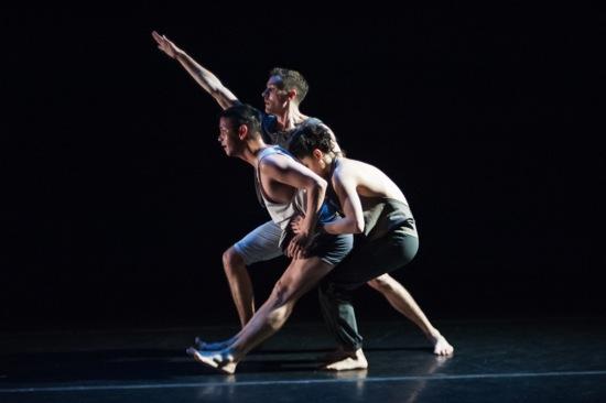 (L to R): Julian De Leon, T.J. Spaur, and Nicole Diaz. Photo: Keira Heu-Jwyn Chang