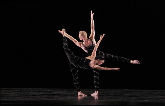 Parisa Khobdeh and Michael Trusnovec in Paul Taylor's Promethean Fire. Photo: Paul B. Goode