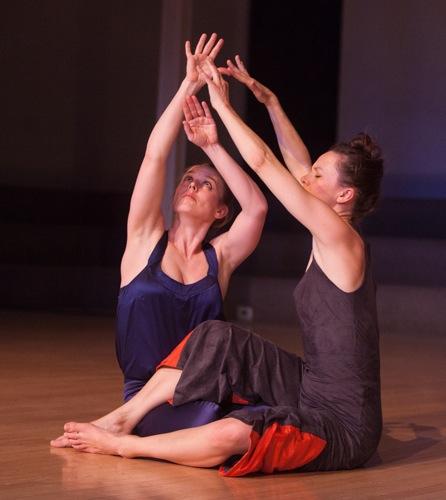 (L to R): Weena Pauly and Katie Workum in Black Lakes. Photo: Yi-Chun Wu