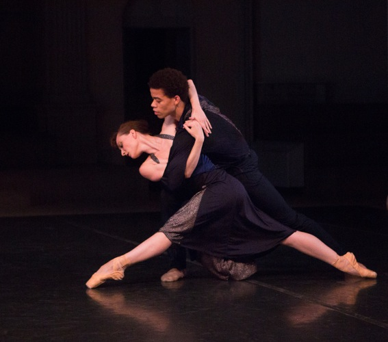 Amanda Treiber and Steven Melendez in Richard Alston's Such Longing. Photo: Yi-Chun Wu
