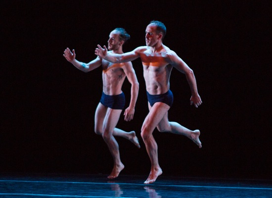 Matthew Albert (L) and Brian Brooks in Brooks' Motor. Photo: Yi-Chun Wu