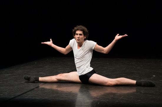 Maurus Gauthier in Eric Gauthier's Ballet 101. Photo: Christopher Duggan