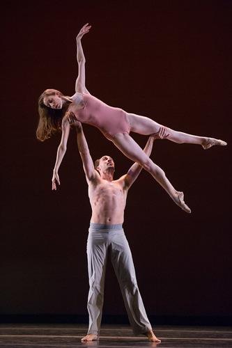 Rebecca Krohn and Tyler Angle in Christopher Wheeldon's After the Rain. Photo: Christopher Duggan