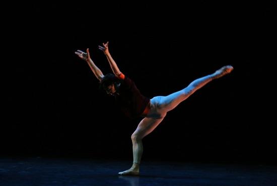 Joseph Walsh of the San Francisco Ballet in Hans van Manen's Solo. Photo: Julieta Cervantes New York, N.Y. October 8, 2015 Photo Credit: Julieta Cervantes