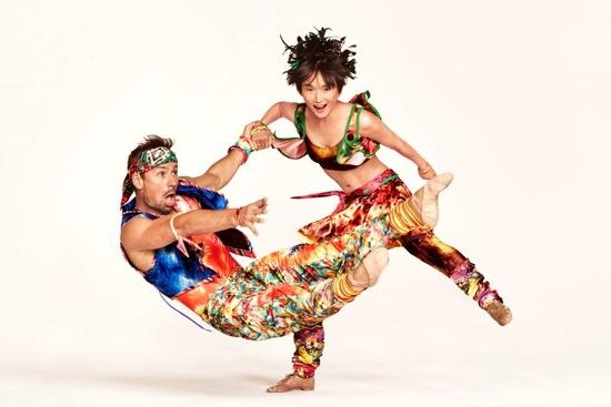 Matthew Dibble and Rika Okamoto in Twyla Tharp's Yowzie. Photo: Ruven Afanador