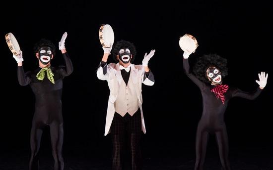"(L to R): Fausto Rivera, Alex Crozier, and Alexis ""Tilly"" Evans-Krueger. Photo: Ian Douglas"