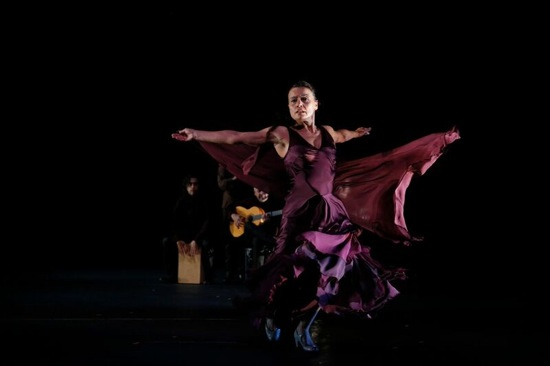 Soledad Barrio in Antigona. Photo: Chris Bennion.