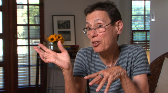 Yvonne Rainer, interviewed in Jack Walsh's Feelings Are Facts: The Life of Yvonne Rainer.