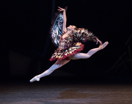 Tiler Peck as the Cuckoo Bird in The Most Incredible Thing . Photo: Paul Kolnik