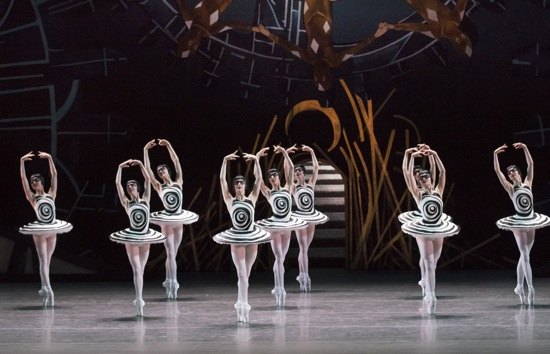 New York City Ballet dancers as the Nine Muses in Justin Peck's The Most Incredible Thing. Photo: Paul Kolnik