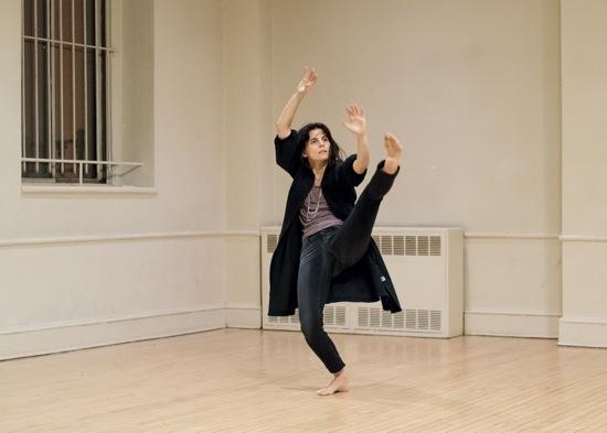 Jimena Paz performs in the Parish Hall at St. Mark's. Photo: Ian Douglas