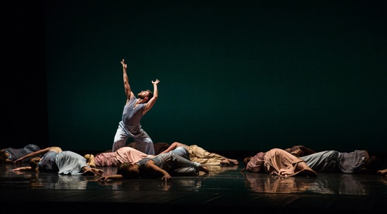 Sam Black and the Mark Morris Dance Company in Morris's The. Photo: Mat Hayward