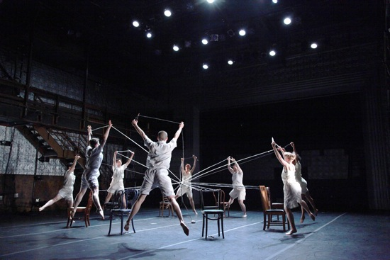 Weavers of the plot in Ballez's keep the circle spinning in Sleeping Beauty and the Beast. Photo: Theo Cote