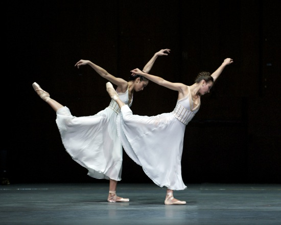 Stella Abrera and Christine Shevchenko in Alexei Ratmansky's Seven Sonatas. Photo: Marty Sohl
