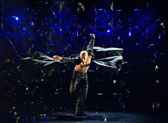 Alessandro Sousa Pereira in Tim Rushton's Black Diamond. Photo: Henrik Stenberg