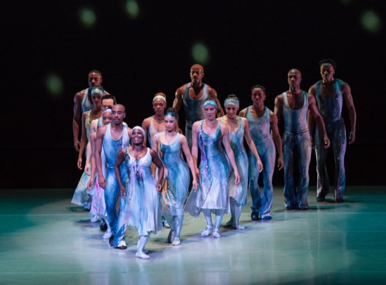 The Alvin Ailey American Dance Theater in Ailey's Night Creature. Photo: Paul Kolnick