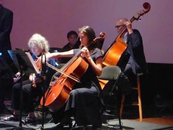 Dorothy Matirano and Trombari section