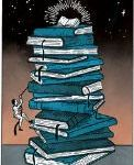 You'll Poke Your Eye Out (With That Stack Of Books)