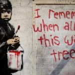 "Protests As Detroit Gallery Plans To Sell Famous Banksy Mural After ""Saving"" It"