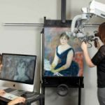 Finding An Artist's Original Color, Behind The Frames