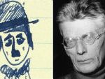 What Was Beckett Waiting For As He Doodled?