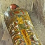 2,800-Year-Old Egyptian Sarcophagus, In Excellent Condition, Unearthed At Luxor