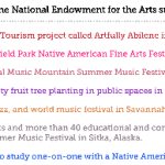 Want To See Everything The NEA Funded Last Year?