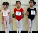 Watching Tiny Dancers Try Out For New York City Ballet's School