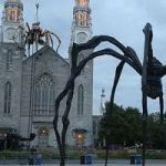 Artist Puts Robot Spider On Cathedral – And Some Catholics Denounce It As 'Demonic'