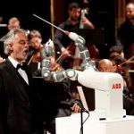 So How Did That Robot Do Conducting An Orchestra? Here's Video