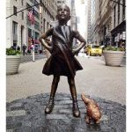 That Guy Who Put A Peeing Dog Next To The 'Fearless Girl' Statue? He Got Run Over By A Subway Train