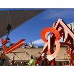 How A Museum 'De-Installs' A 30-Foot, 16-Ton Steel Sculpture