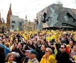 Melbourne's Federation Square Has Become Iconic Public Space. Will An Apple Store Kill It?