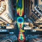 How A South American Capital Remade One Of Its Most Congested Streets Into A Pedestrian-Only Artwork