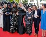 At Cannes, Women Join Arms In A Silent Protest Over A Lack Of Woman Directors